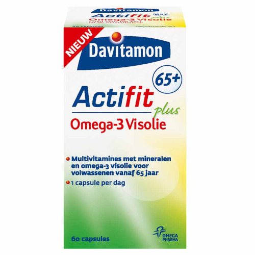 Davitamon actifit 65+ omega